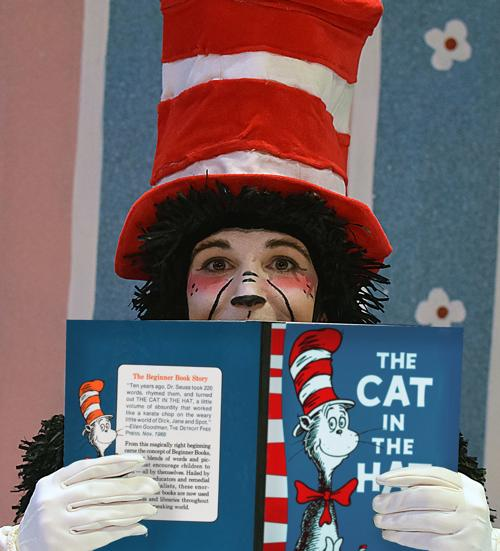 lauren krupski as the cat in the hat