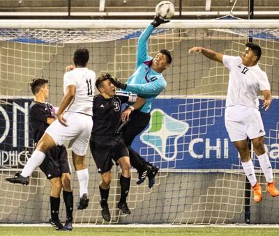 Class B: Columbus freshman Adrian Pedraza scores game-winning goal in the second half