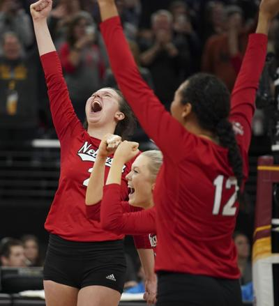 Nebraska volleyball advance