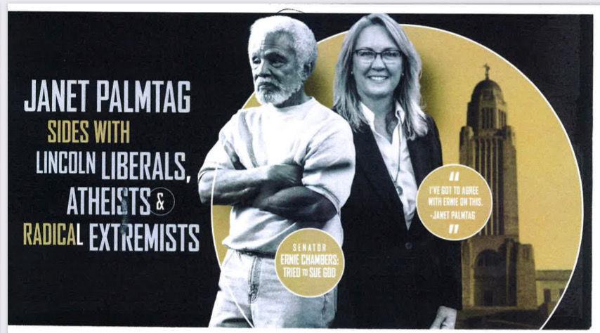 Julie Slama campaign flyer (copy)