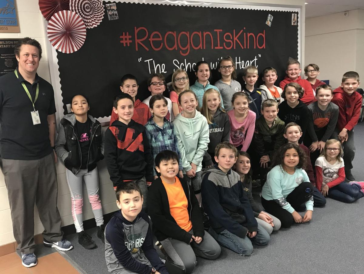 Reagan Elementary students lobby for corn