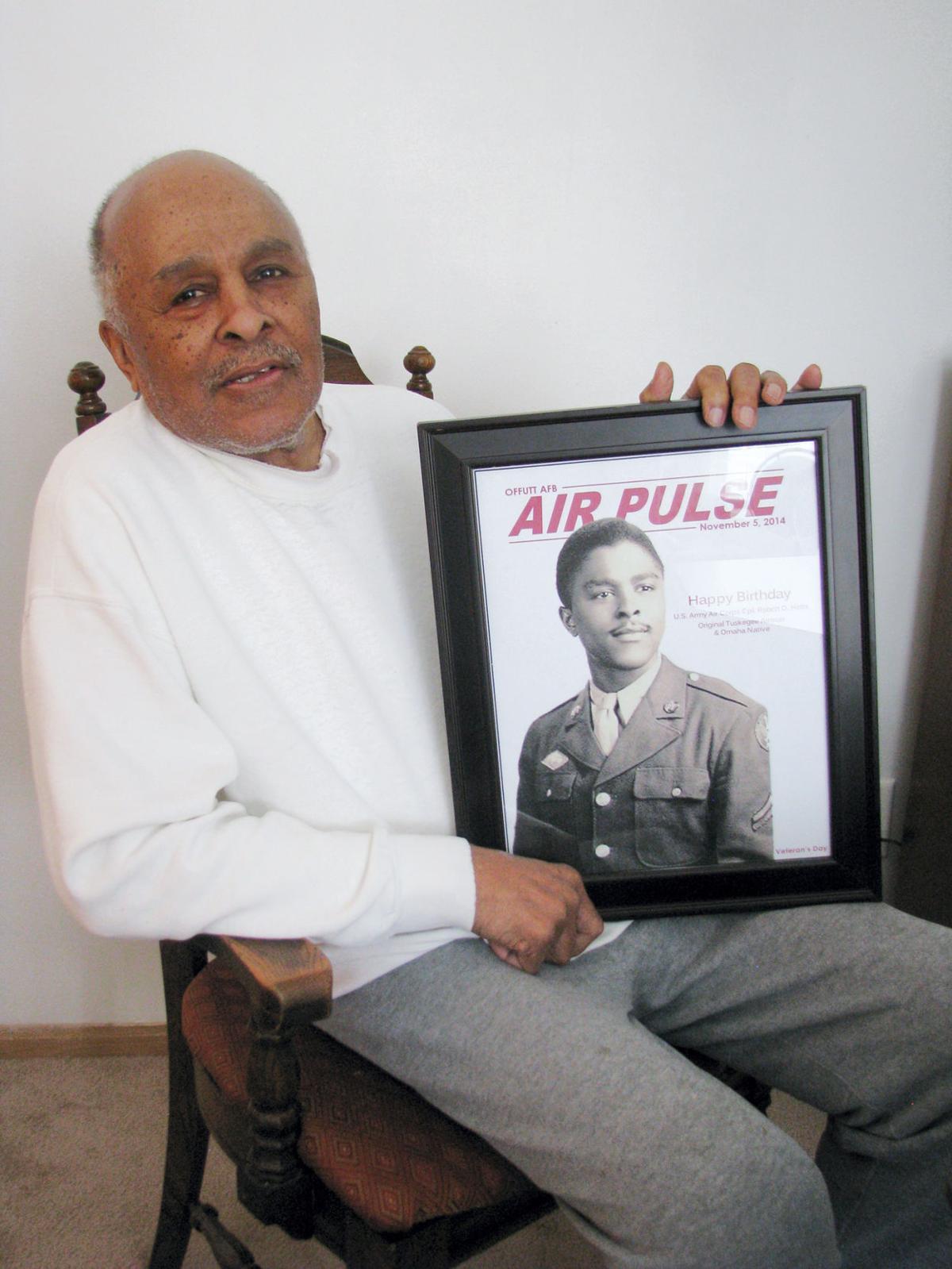 Lone Survivor Robert Holts the last of Nebraska's Tuskegee Airmen (copy)
