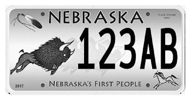 Works by Native artist on Nebraska's First People plates