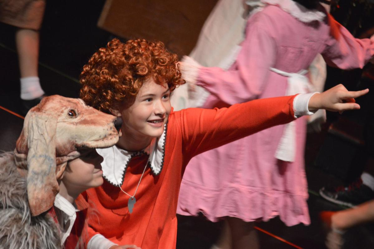 The Rose Feb 2020 Issue- Taylor H. plays Annie in a Rose Theater summer camp.jpg
