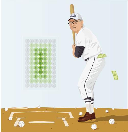 Buffett at bat