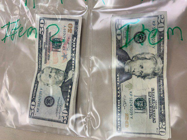 La Vista man paid with $500 in prop bills