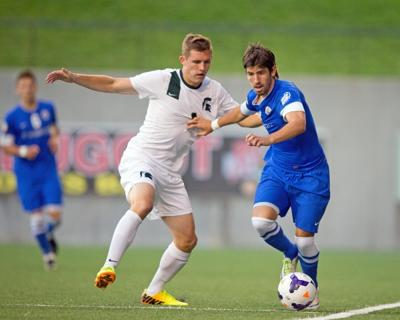 Weary Bluejays can't shake Spartans, settle for draw