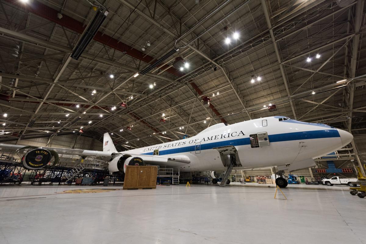E-4B in hangar (copy)