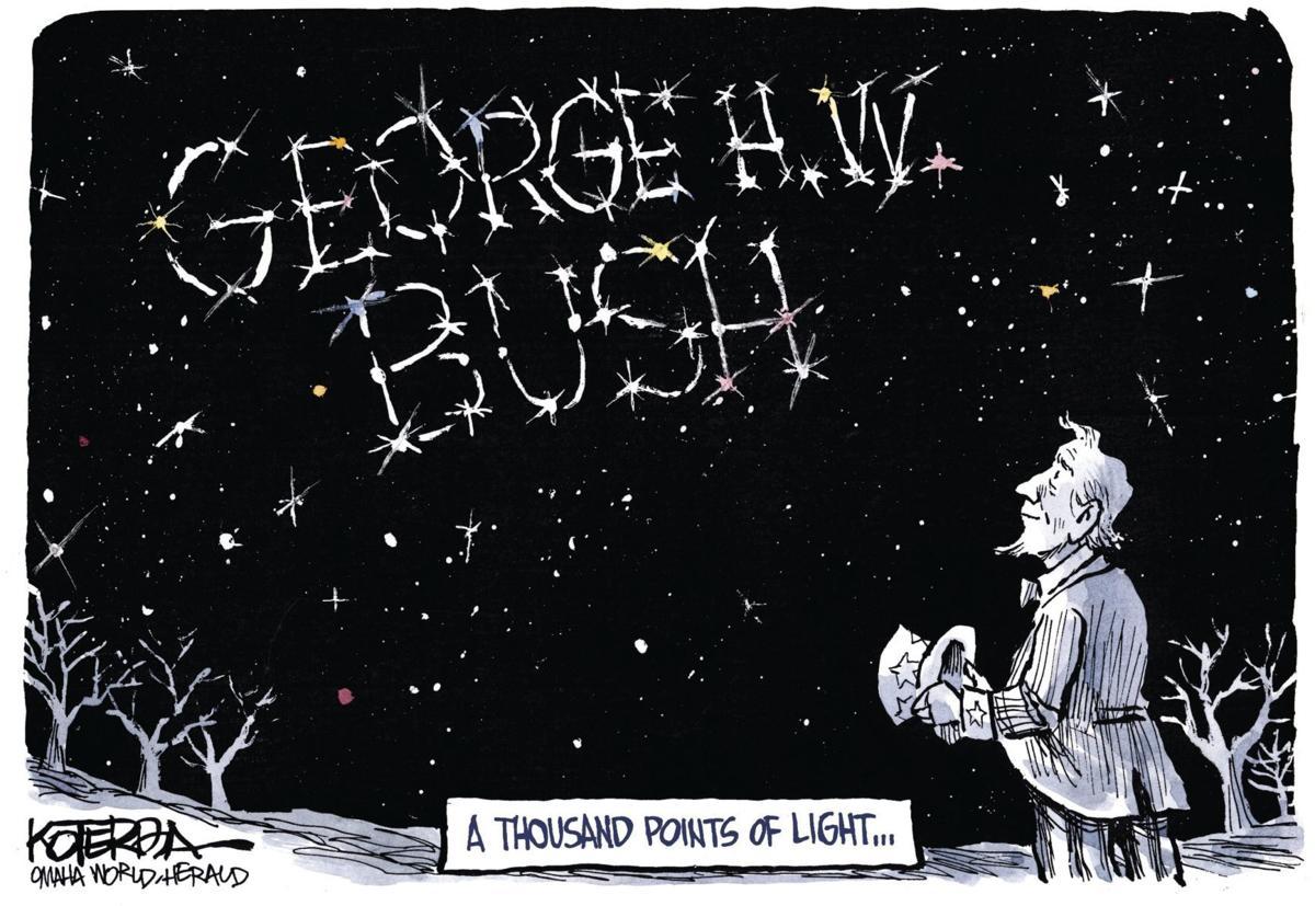 Jeff Koterba's latest cartoon: A thousand points of light