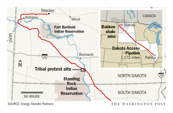 8 arrested in northwest Iowa while protesting Dakota Access