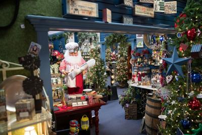 Atkinson store keeps the holiday spirit alive all year long by offering an eclectic assortment of Christmas decorations