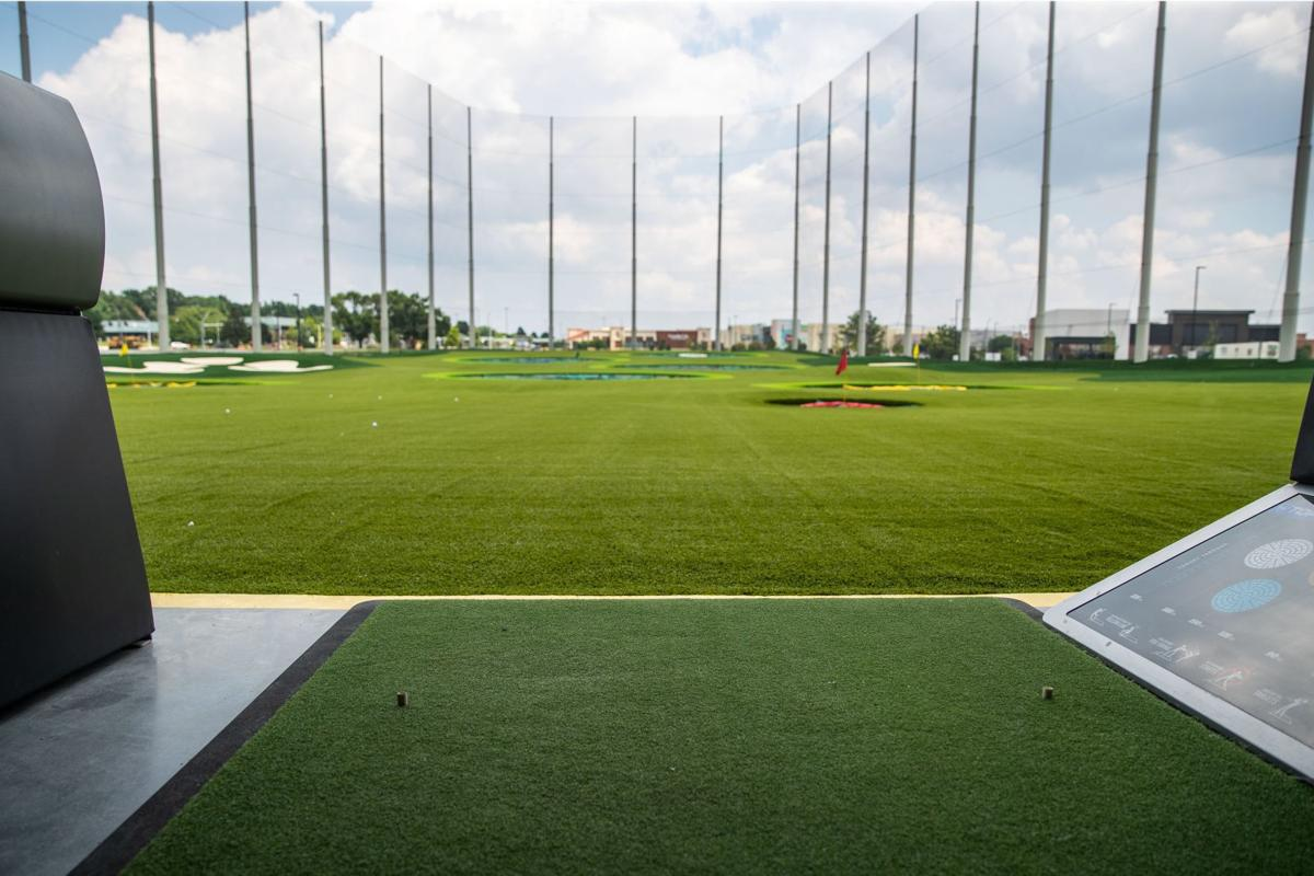 The view from Topgolf.