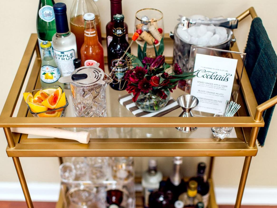 Holiday home-bar hospitality can be hassle-free