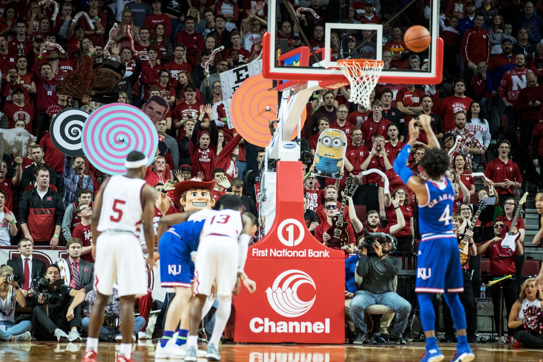ku Mad Chatter Husker hoops has much