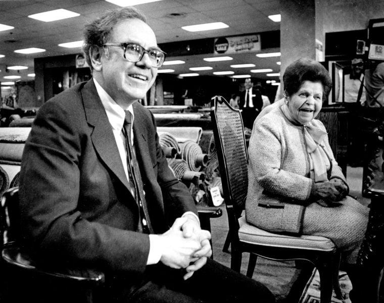 Warren Watch: Bidding 'was close' in '83 sale of Nebraska Furniture Mart