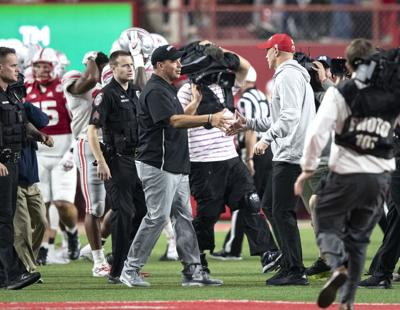 Scott Frost says Huskers are 'just hungry to play better' following loss to Ohio State