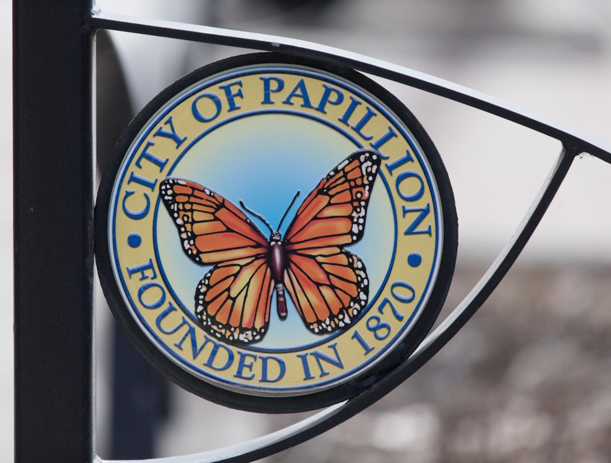 City of Papillion city logo - mug