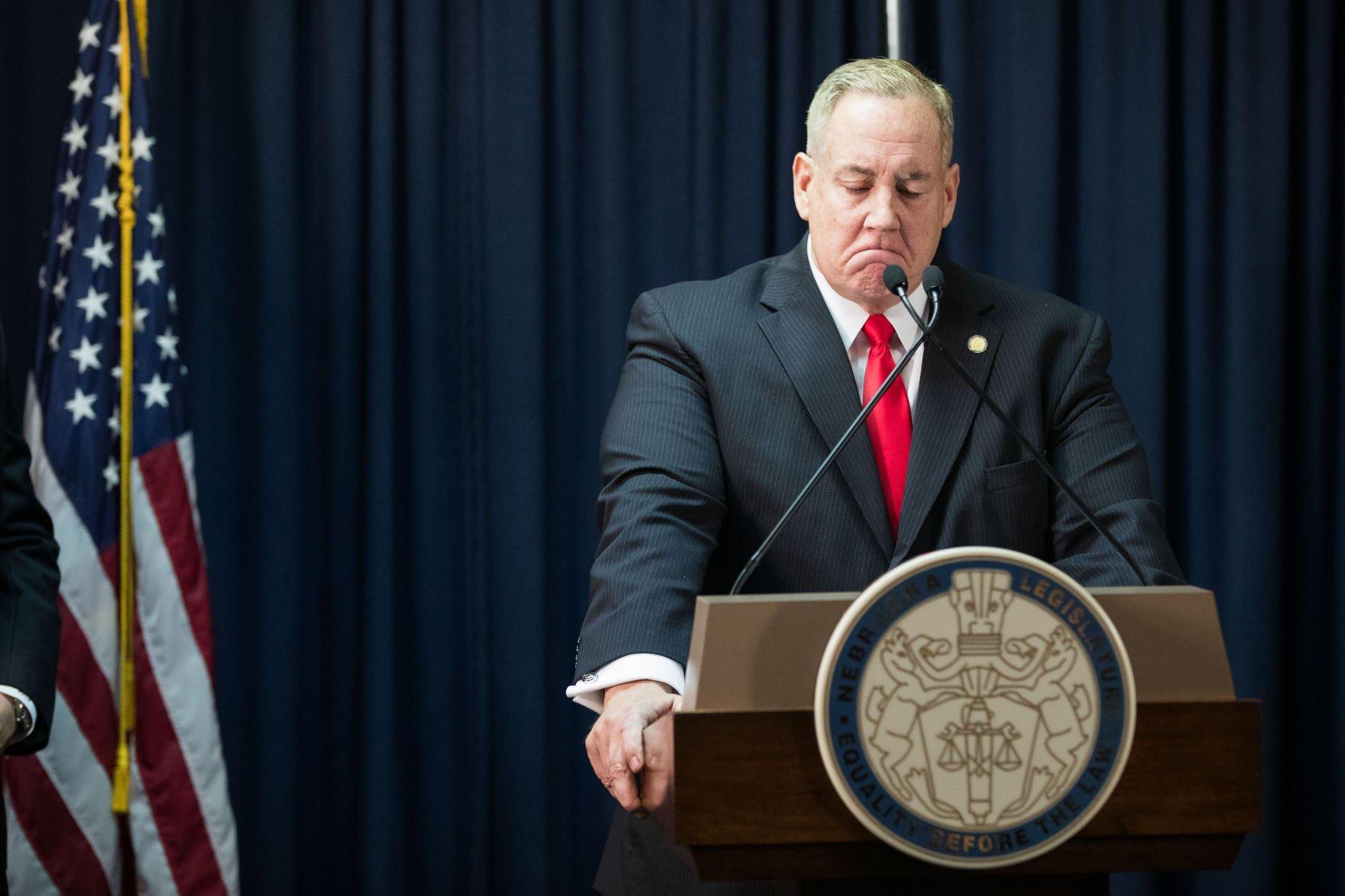 Kintner resignation State Sen Bill Kintner to