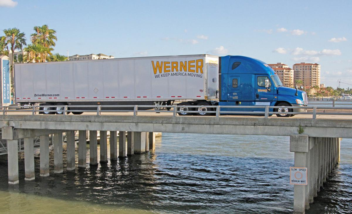Company could ponder merger as trucking industry consolidates
