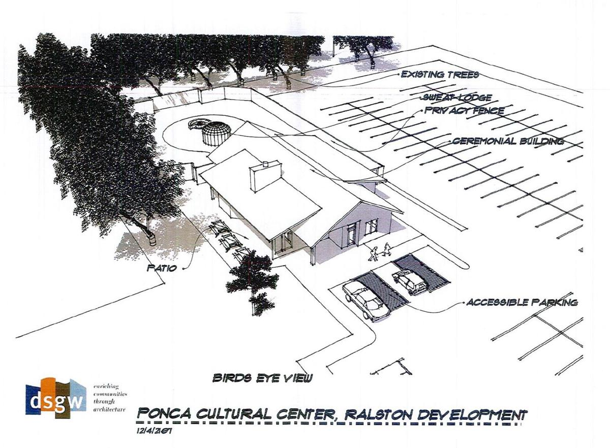 Ponca Tribe HQ rendering