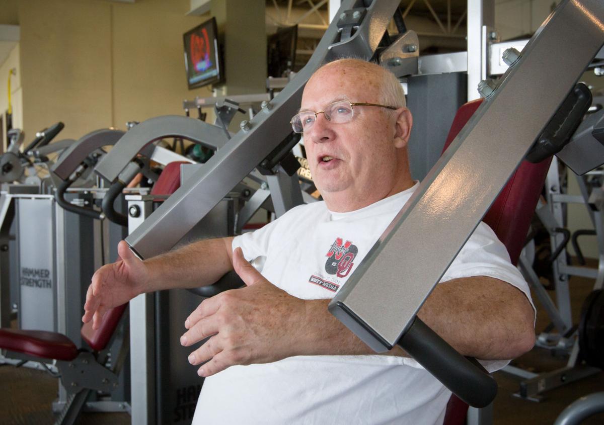 Heart attack at 49 drives man to improve health meet me at the gym john green m4hsunfo