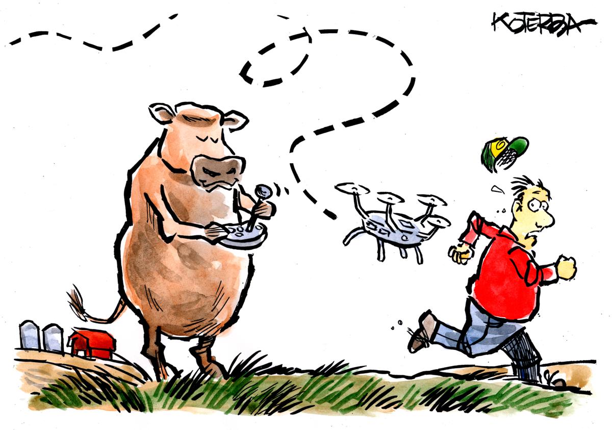 koterba march cartoon