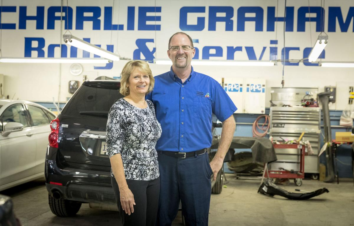 Charlie graham auto shop and its iconic sign will move across intersection to make way for unmc expansion money omaha com