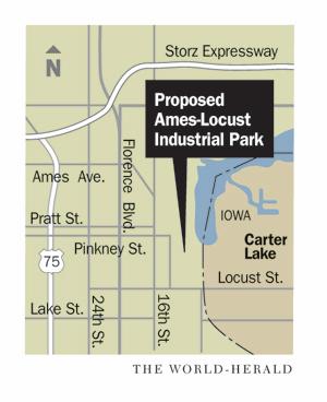 Ames Locust Industrial Park map