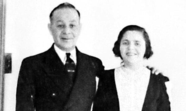 Isadore and Rose Blumkin