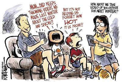 Jeff Koterba's latest cartoon: What goes around, comes around