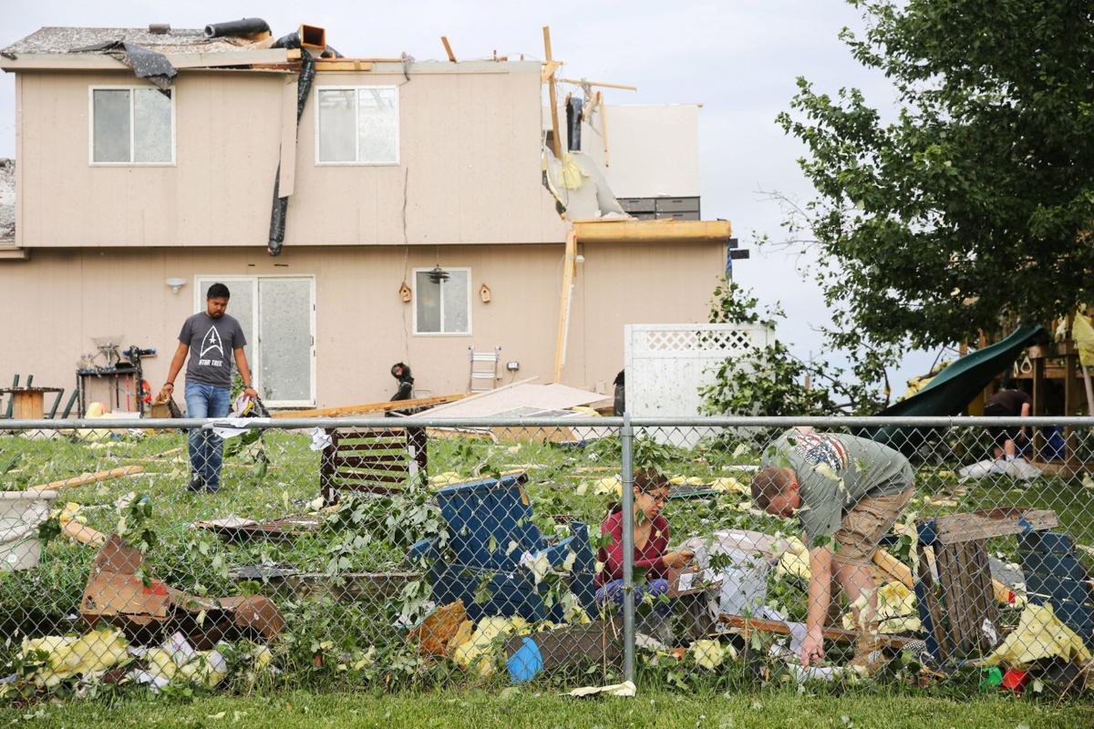 Bellevue tornado cleanup