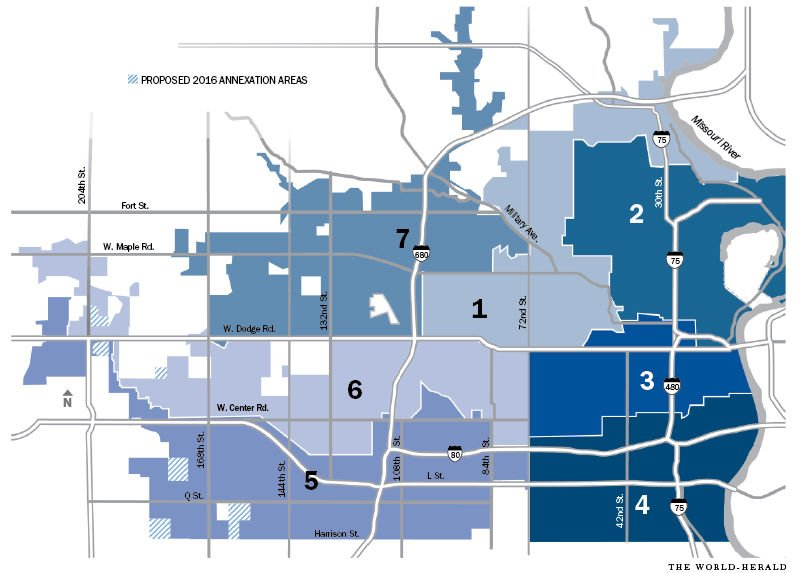 Metro Online Payment >> Omaha City Council's political makeup might shift after redistricting to include annexations ...