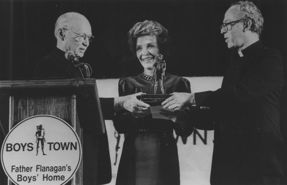 Nancy Reagan-Boys Town-1986