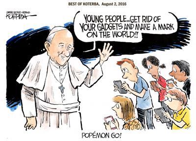 Best of Jeff Koterba's cartoons: Wise words