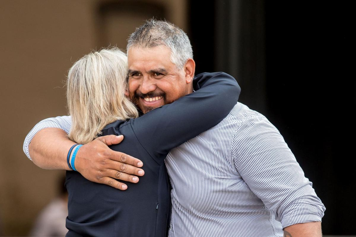 Husband of slain Omaha police officer Kerrie Orozco heartened by