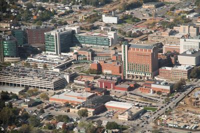 Alternate aerial view of UNMC campus (copy) (copy) (copy)