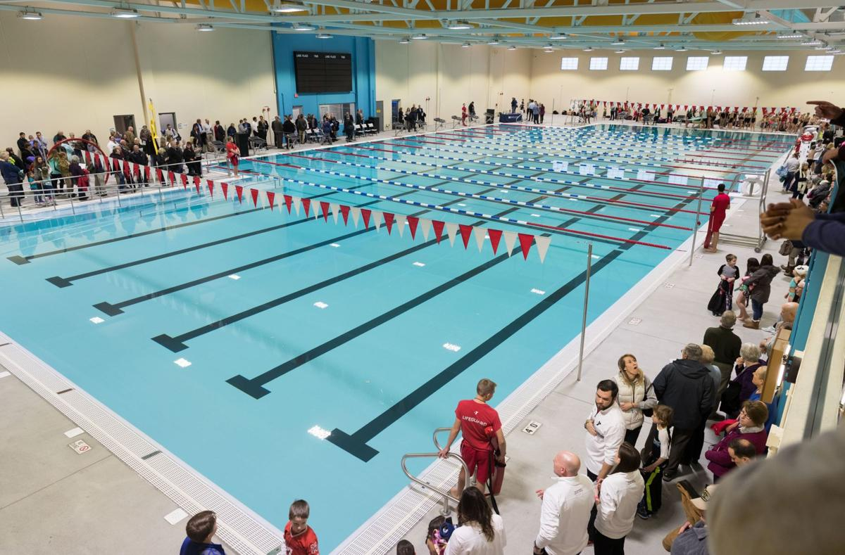 Fremont YMCA unveils Olympic-size indoor pool, one of few ...
