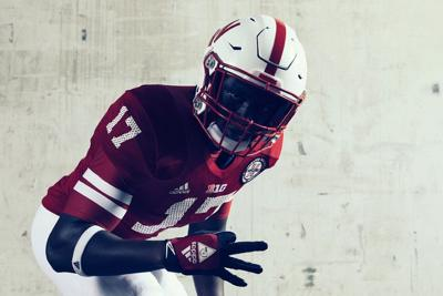 Nebraska will wear these Adidas-designed alternate uniforms for the  Wisconsin game. 66b92b135