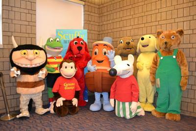 Meet storybook characters
