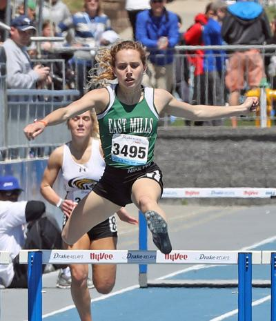 Track standout Janette Schraft transfers from East Mills to Glenwood