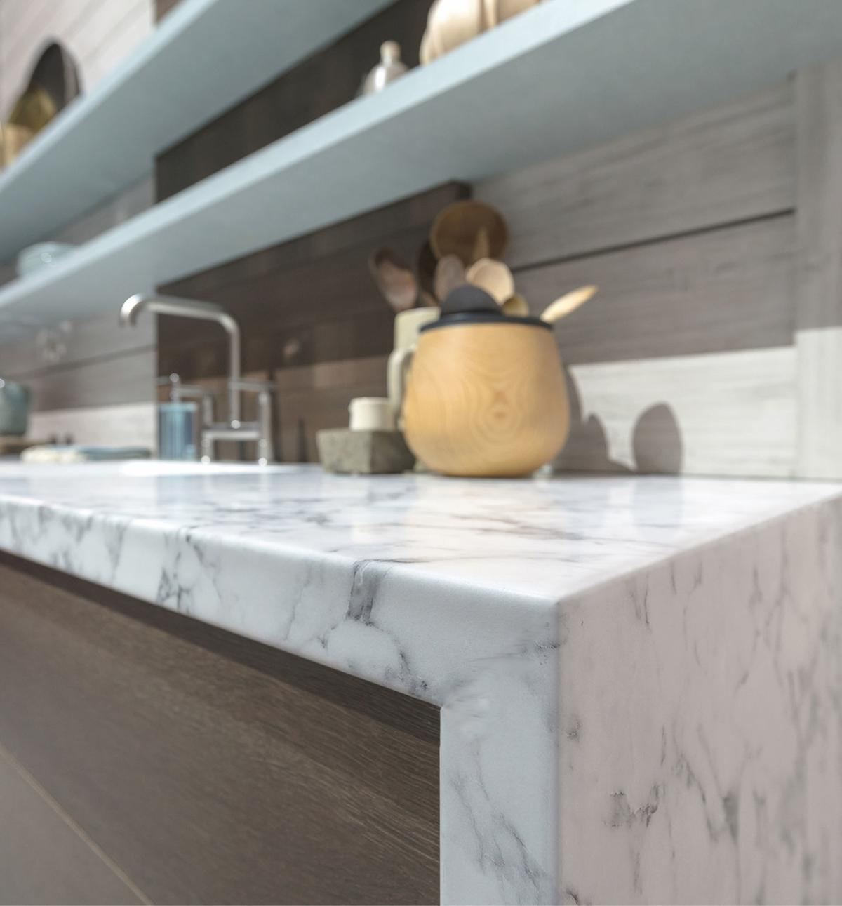 Laminate counters take on a new look