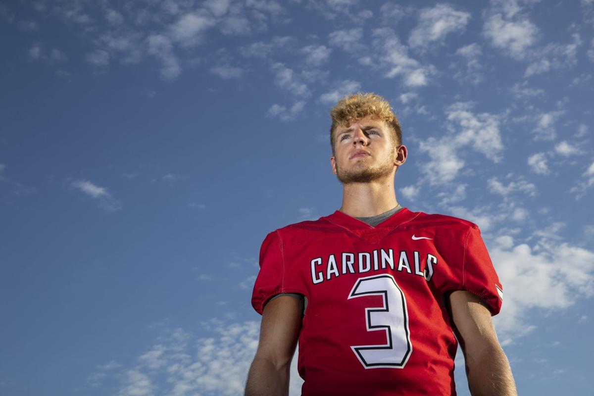 Quarterback, defensive back and kicker? Senior Noah Okraska truly does it all for Harvard