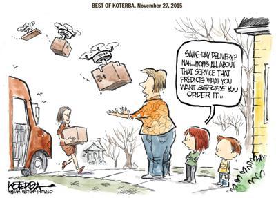 Best of Jeff Koterba's cartoons: A shopper's dream