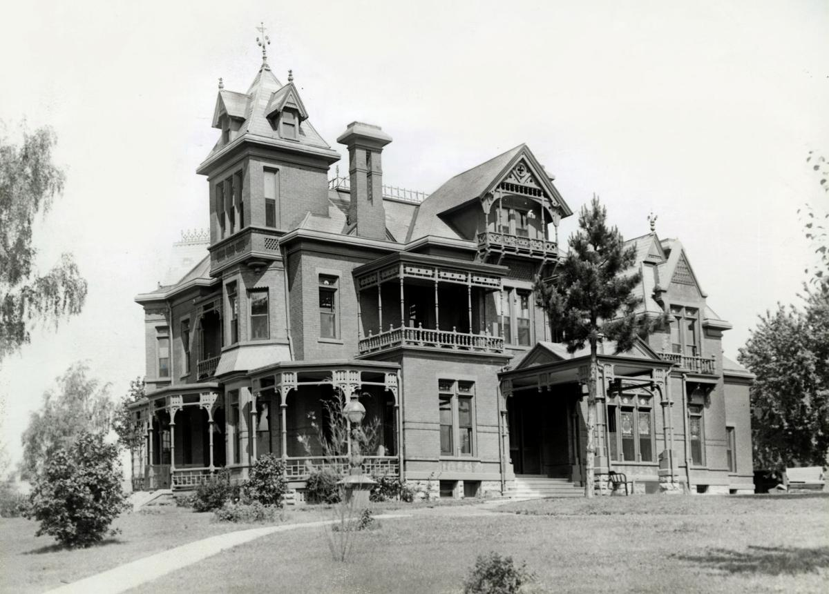 Dr. Sam D. Mercer's mansion