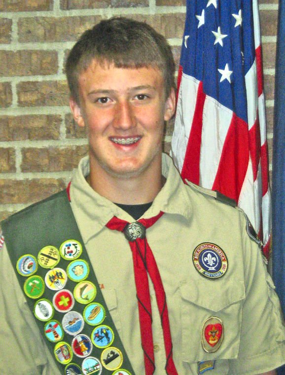Creps awarded Eagle Scout honor