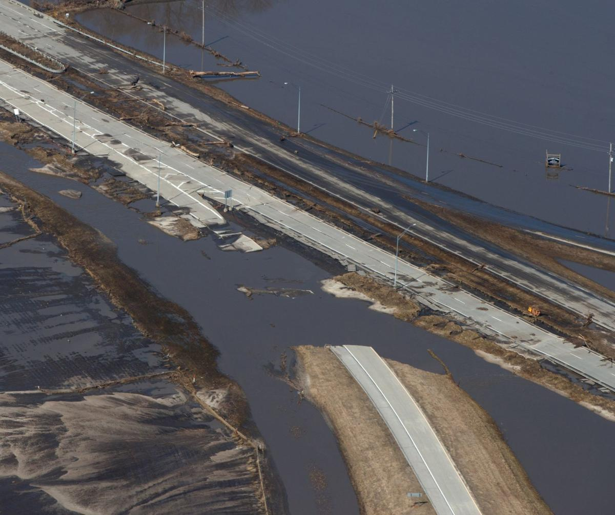 Saturday flood updates: Offutt fights rising waters