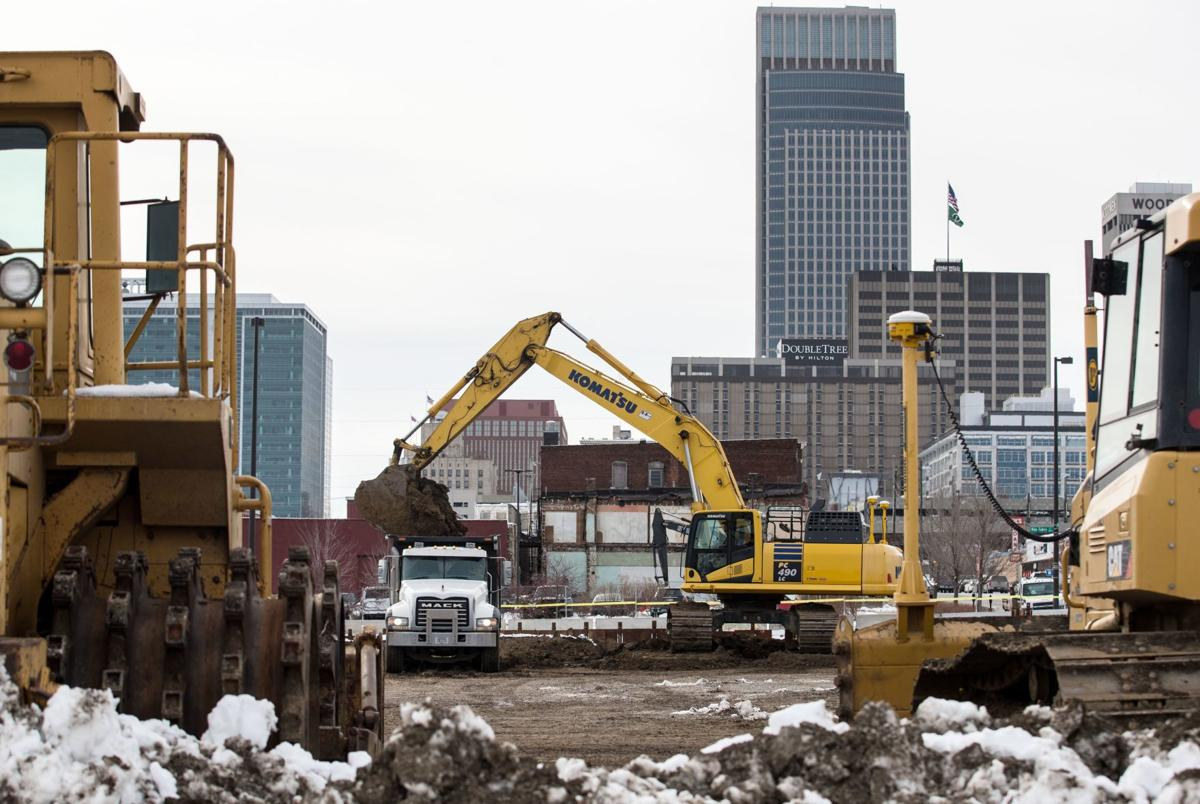 Some property owners are holdouts as Kiewit pieces land