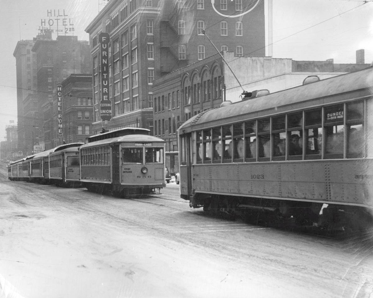 Streetcars in the 1940s