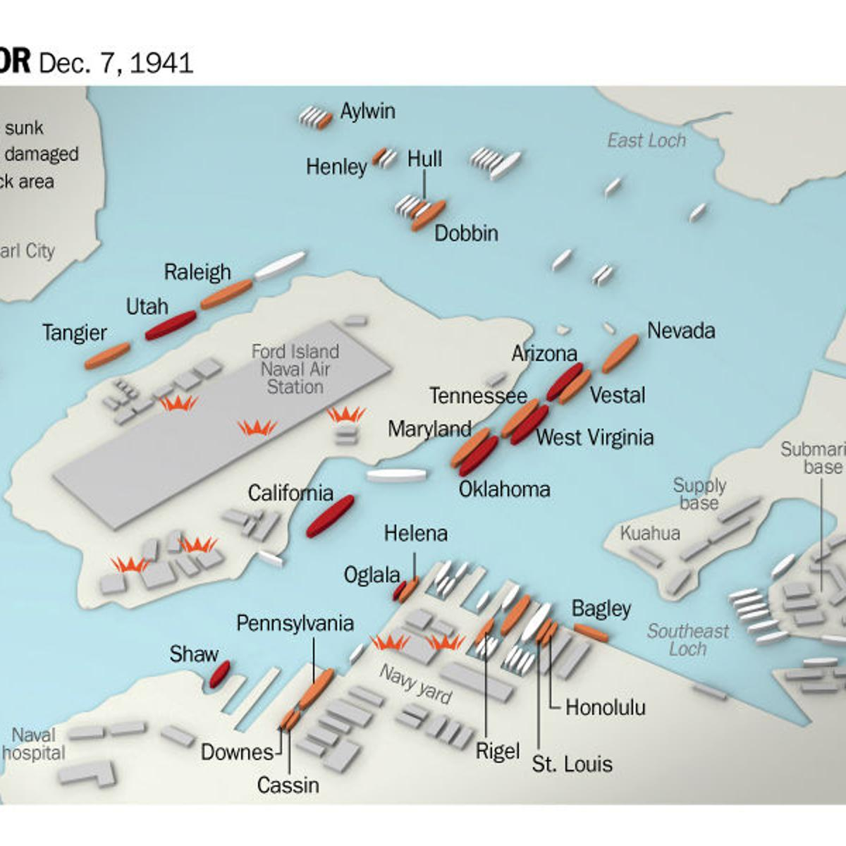 Did You Know Pearl Harbor Happened >> Timeline Of Pearl Harbor Attack What Happened On Dec 7 1941