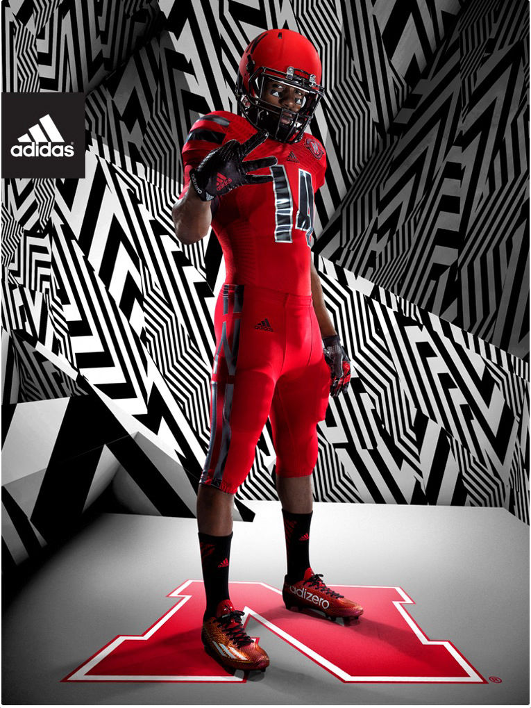 meet 7d93f 5bf8a Adidas unveils Husker alternate, throwback uniforms for 2017 ...